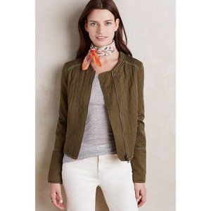 Anthropologie Hei Hei Quilted Moto Jacket M